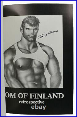 Retrospective I, II & III SIGNED by TOM OF FINLAND FIrst Edition 1st & 2nd