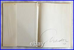 Richard Avedon Portraits HC 1ST Edition 1ST Printing Signed