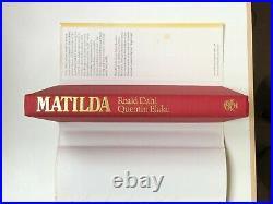 Roald Dahl Matilda First Edition 1988 SIGNED & INSCRIBED BOOK