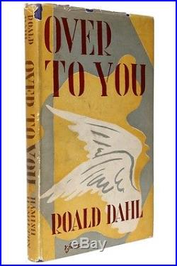 Roald Dahl Over To You Hamish Hamilton, 1946, UK Signed First Edition
