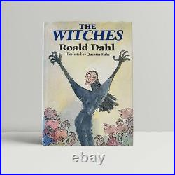Roald Dahl The Witches First Edition 1983 SIGNED and INSCRIBED 1st Book