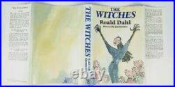 Roald Dahl The Witches First Edition Signed by Dahl & Blake to Slips