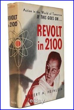 Robert A. Heinlein Revolt in 2100 Shasta, 1953, US Signed First Edition
