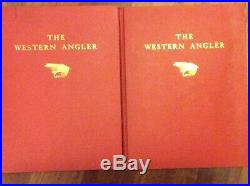 Roderick L. Haig-BrownThe Western Angler, Two Volume, Signed First Edition 1939