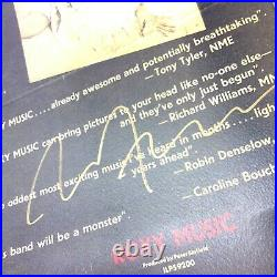 Roxy Music Extremely Rare 1/500 Ltd. Super-Deluxe CD/DVD Box Set + Signed Poster