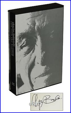 Run with the Hunted by CHARLES BUKOWSKI SIGNED Limited First Edition 1993 1st