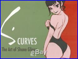 S. CurvesThe Art of Shane Glines, Vol. 2- SIGNED 1st Edition HC BOOK