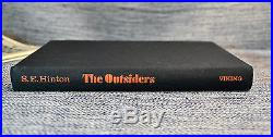S. E. Hinton The Outsiders Inscribed/signed First Edition Viking 1967 Classic