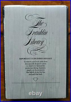 SEALED! BLUEBEARD Kurt Vonnegut SIGNED 1st FIRST EDITION Easton Press Franklin