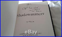 Shadowmancer G P Taylor First Edition Mount 2002 Signed Extremely Rare Book Hb