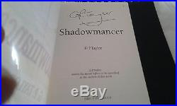 Shadowmancer G P Taylor First Edition Mount 2002 Signed Rare