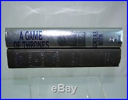 SIGNED A Game Of Thrones by George R. R. Martin 1996 FIRST EDITION 1st Print HC