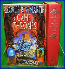 SIGNED A Game Of Thrones by George R. R. Martin 1996 U. K. 1st First Edition Book