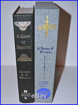 SIGNED A Game of Thrones George R. R. Martin TRUE1st First Edition NO DUST JACKET