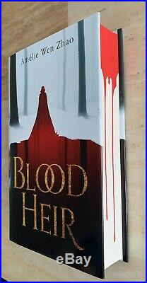 SIGNED Amelie Wen Zhao Blood Heir First Edition 1st/1st Spayed Edge Illumicrate