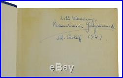 SIGNED Autobiography of a Yogi PARAMHANSA YOGANANDA First Edition 1st 1946