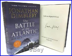 SIGNED BOOK The Battle of the Atlantic by Jonathan Dimbleby First Edition New