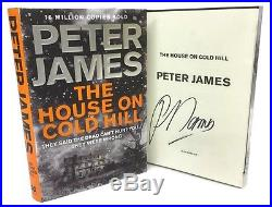 SIGNED BOOK The House on Cold Hill by Peter James First Edition 1st Print