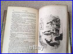 SIGNED CHARLES DICKENS LITTLE DORRIT First Edition Leather Bound Hardback 1857