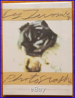 SIGNED CY TWOMBLY PHOTOGRAPHS 1951-1999 2002 1ST EDITION HARDCOVER WithJACKET