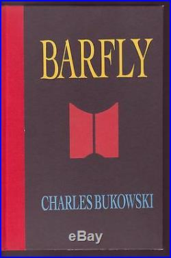 SIGNED, FIRST EDITION (#110/200) 20 Charles Bukowski Drawings in Barfly