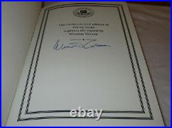 SIGNED FIRST EDITION Easton Press FORREST GUMP Winston Groom LEATHER FINE RARE