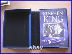 SIGNED FROM A BUICK 8 by Stephen King 1st 2002 Limited edition box