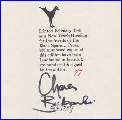 SIGNED, First Edition (1/226) by Charles Bukowski