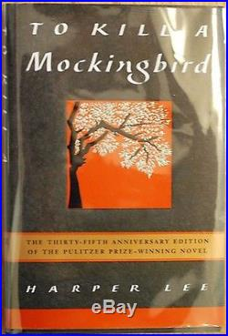 SIGNED Harper Lee To Kill a Mockingbird Go Set a Watchman First Embossed Edition