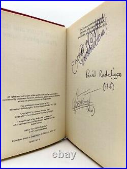 SIGNED Harry Potter Philosopher's Stone FIRST EDITION 4th Print ROWLING