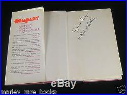 SIGNED/INSCRIBED Stephen Sondheim COMPANY (1970) First Edition F/F superb