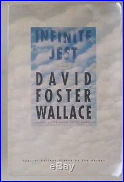 SIGNED Infinite Jest DAVID FOSTER WALLACE First Edition Advance Readers Copy