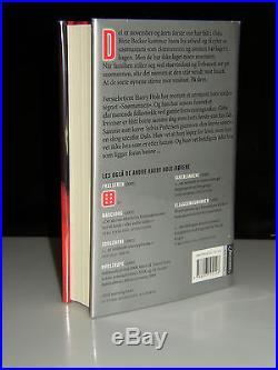 SIGNED JO NESBO SNOMANNEN (SNOWMAN) TRUE NORWEGIAN FIRST EDITION HARRY HOLE 2007