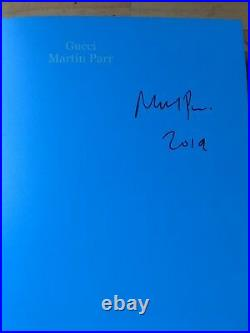 SIGNED Martin Parr GUCCI New Order First Edition
