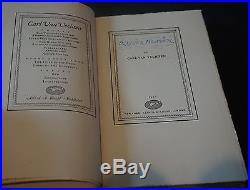 SIGNED Nigger Heaven by Carl Van Vechten 1926 HC #'d First Edition RARE
