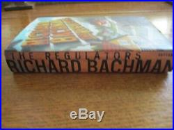 SIGNED STEPHEN KING Richard Bachman The Regulators First Edition First Printing