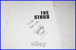 SIGNED Stephen King THE STAND COMPLETE & UNCUT 1990 1ST FIRST TRADE EDITION RARE