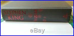 SIGNED Stephen King UK First Edition Hardback
