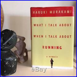 SIGNED What I Talk About When I Talk Running HARUKI MURAKAMI First US Edition