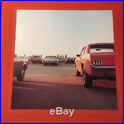 SIGNED William Eggleston 2 1/4 First Edition First Printing With Poster 1999