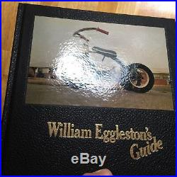 SIGNED William Eggleston's Guide 1976 First Edition Parr Badger Photobook
