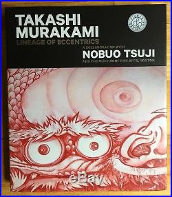 SIGNED With DRAWING Takashi Murakami Lineage Of Eccentrics First Edition