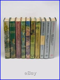 SIMON RAVEN signed Alms for Oblivion 10 volumes first editions ALL SIGNED