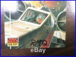 STAR WARS George Lucas 1976 First Edition Original RARE Signed Ralph McQuarrie
