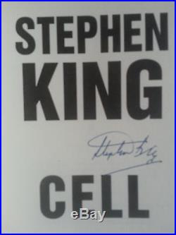 Stephen King'cell' First Edition Signed