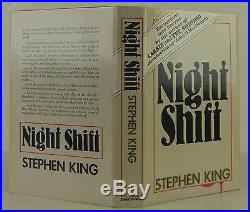 STEPHEN KING Night Shift INSCRIBED FIRST EDITION