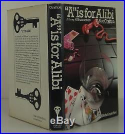 SUE GRAFTON A Is for Alibi SIGNED FIRST EDITION