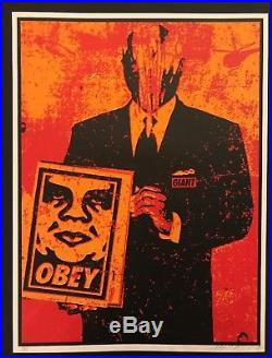 SUIT Shepard Fairey Signed/Numbered VERY RARE First Edition -1999