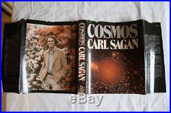 Sagan, Carl'Cosmos', signed first edition first printing association copy