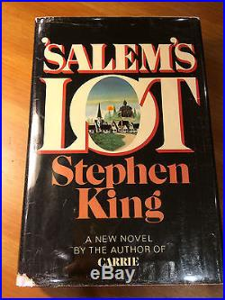 Salem's Lot, Stephen King Signed First Edition